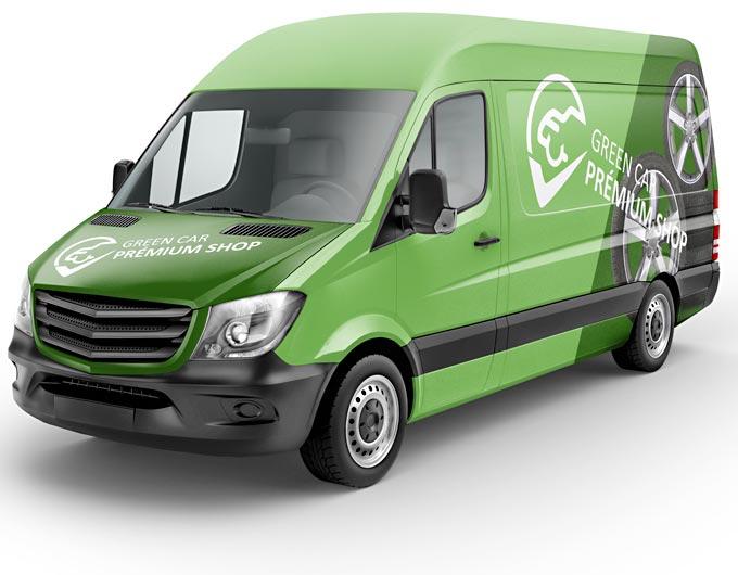 Green Car Shop házhozszállítás